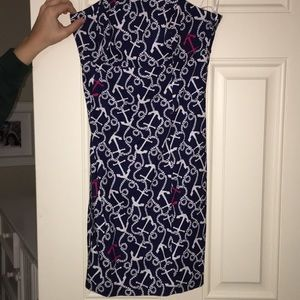 Anchor Lily Pulitzer dress.